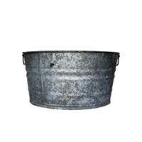 Galvanized Tub - Large