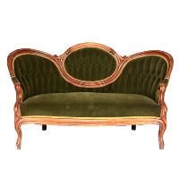 Green Victoria Sofa
