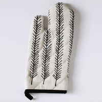 Feather Oven Mitt