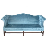 Pale Blue Couch