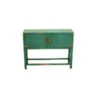 Turquoise Tina Cabinet
