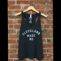 Cleveland Made Me Womens Tank