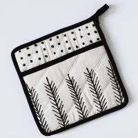 Feather Pot Holder