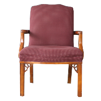 Val Burgundy Chair