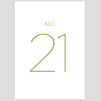 Modern Table Numbers 21-30