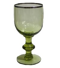 Kiwi Green Goblet