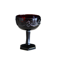 Maroon Champaign Goblet