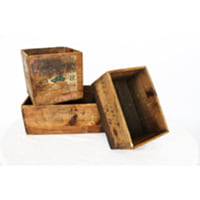 Wooden Box Large + Medium