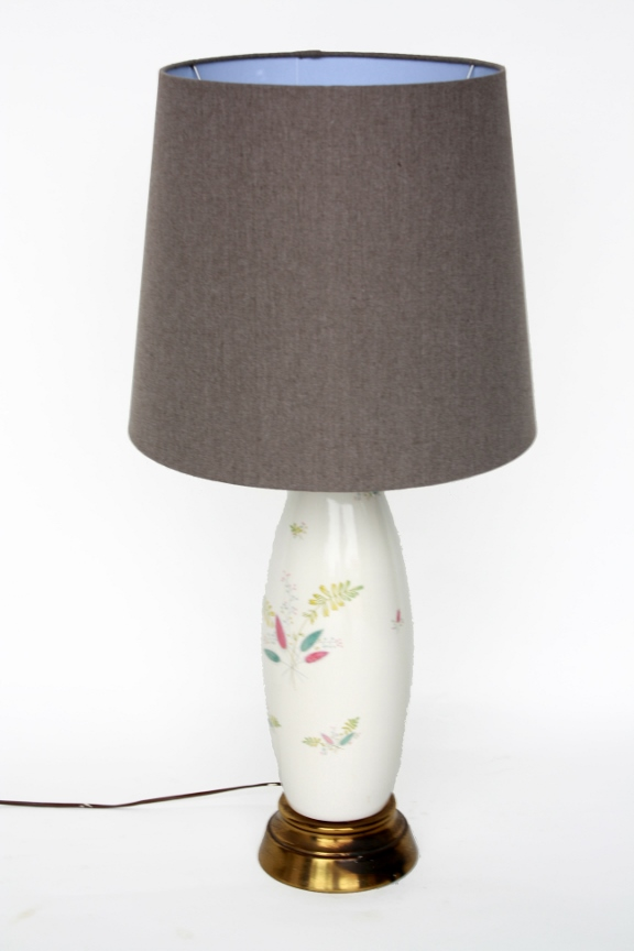 Leaf Pattern Lamp