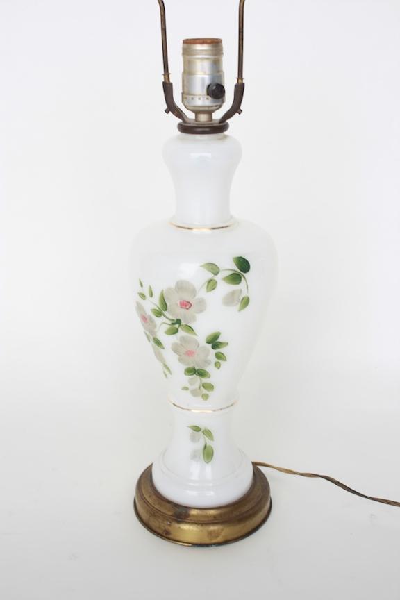 Floral Pattern Lamp