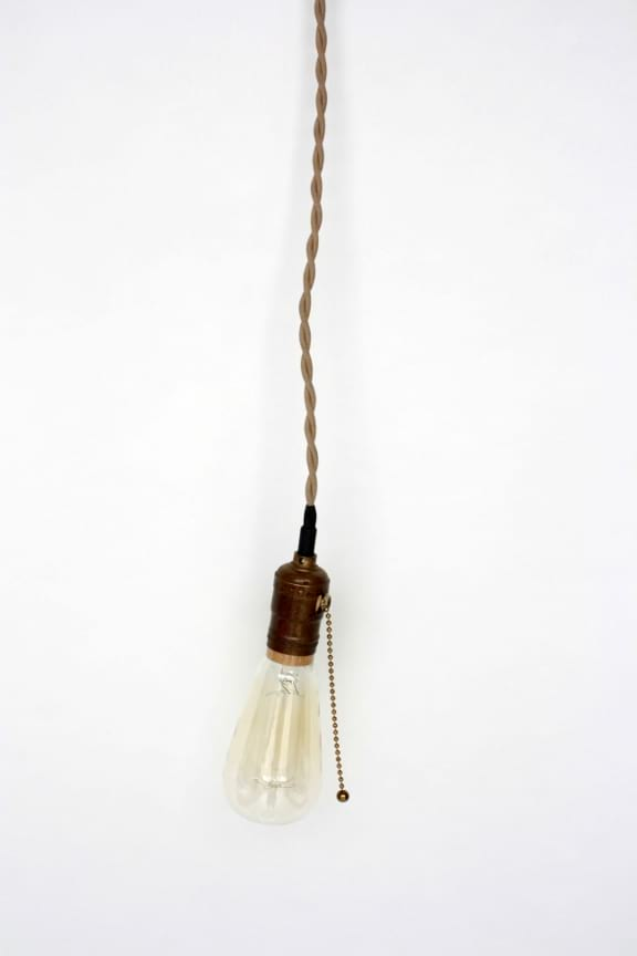 Hanging Edison Light
