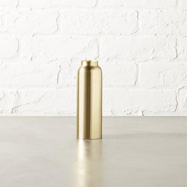 Modern brass Taper Candle Holder