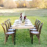 The Hairpin leg Farm Tables