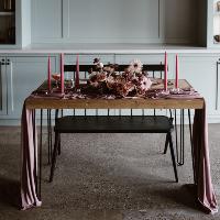 Hairpin Leg Sweetheart Tables