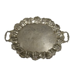 Large Silver Tray G