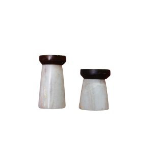 Marble & Wood Stands