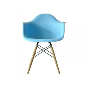 Turquoise Bucket Modern Chair