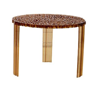 Small Amber Kartell T-Table