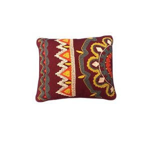 Maroon Moroccan Pillow