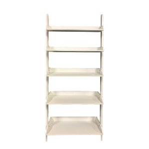 White Ladder Shelving Unit