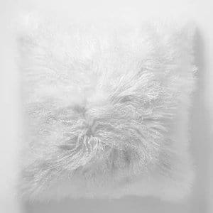White Mongolian Pillow
