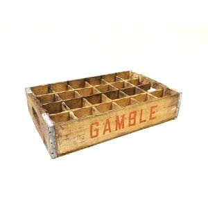 Gamble Crate with dividers