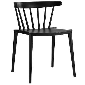Black Spindle Chair