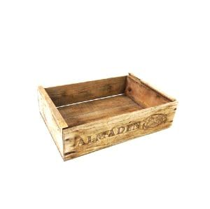 Almaden Wood Box