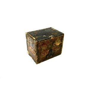 Floral Wood Box