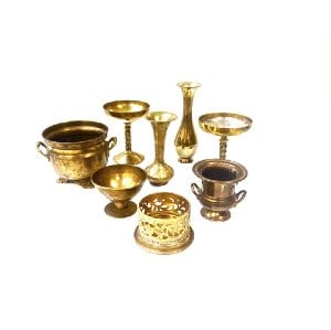 Assorted Brass Containers