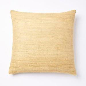 Golden Silk Pillow
