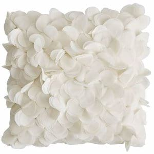Ivory Floral Pillow