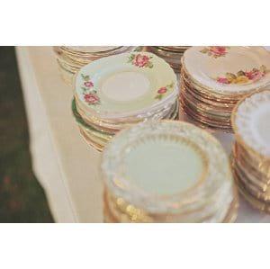 Vintage Bread Plates