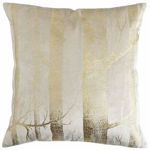 Gold Foil Pillow
