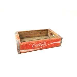 Red Coke Crate