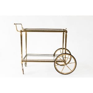Frenchie Brass Cart