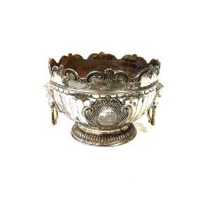 Intricate Silver Vase