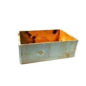 Blue Wood Box
