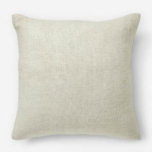 Stone White Pillow