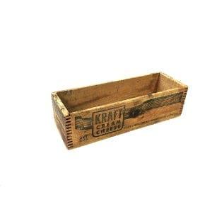 Kraft Wood Box