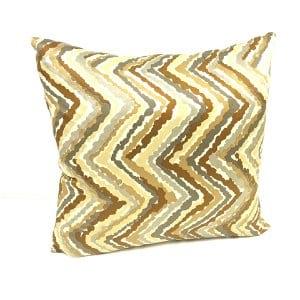 Zigzag Silk Pillow