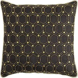 Beaded Tile Pillow