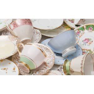 Vintage Tea Cups & Saucers
