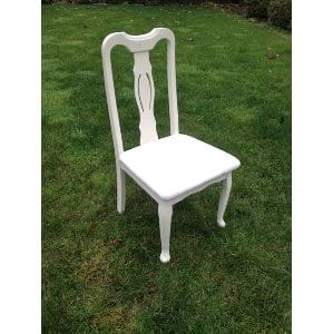 Claire White Chair