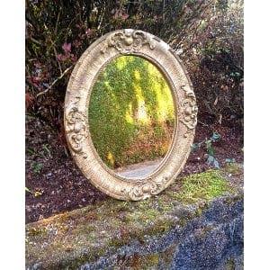Leonore Gold Mirror