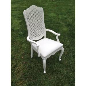Lacy White Chair
