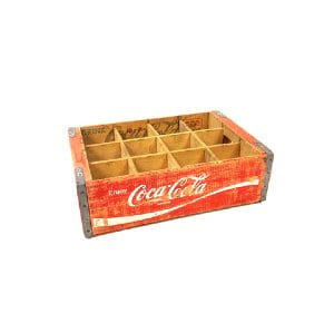 Soda Coke Crate with dividers