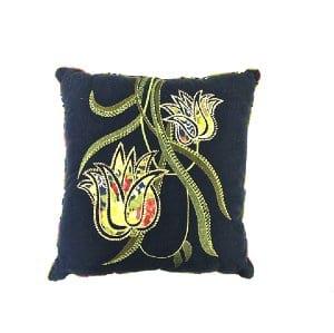 Tulip Navy Pillow