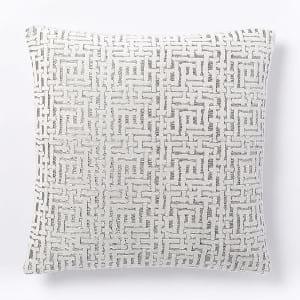 Jacquard Velvet Pillow