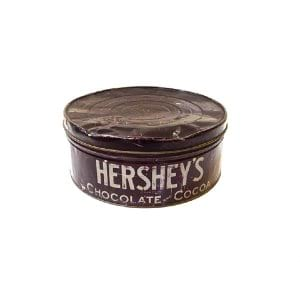 Hershey's Brown Tin